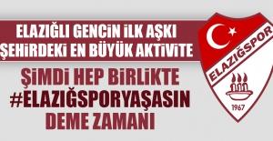Elazığspor Yaşasın Kampanyası Başlatıldı