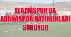 Elazığspor'da Adanaspor Hazırlıkları Sürüyor
