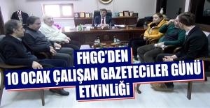 FHGC'den 10 Ocak Çalışan Gazeteciler Günü Etkinliği