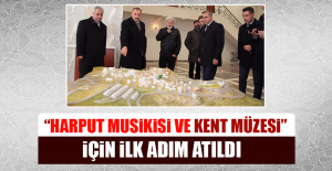 """""""Harput Musikisi ve Kent Müzesi"""" İçin İlk Adım Atıldı"""