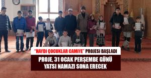 """""""Haydi Çocuklar Camiye"""" Projesi Başladı"""