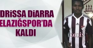 İdrissa Diarra, Elazığspor'da Kaldı