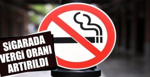 Sigarada Vergi Oranı Artırıldı