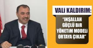 Vali Kaldırım: Ankara'dayken Birkaç Görüşme Yaptım