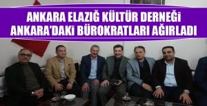 Ankara Elazığ Kültür Derneği, Ankara'daki Bürokratları Ağırladı
