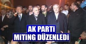 AK Parti Miting Düzenledi