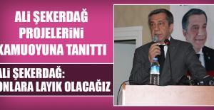 ALİ ŞEKERDAĞ'IN, PROJE TANITIM TOPLANTISI