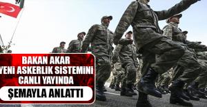 Bakan Yeni Askerlik Sistemini Şemayla Anlattı