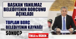 Elazığ Belediyesi'nin Borç Tablosu Açıklandı