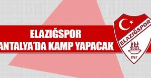Elazığspor Antalya'da Ne Zaman Kamp Yapacak?