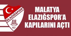 Malatya, Elazığspor'a Kapılarını Açtı