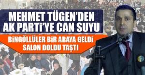 Mehmet Tügen'den AK Parti'ye Can Suyu