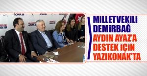 Milletvekili Demirbağ, Ayaz'a Destek İçin Yazıkonak'ta