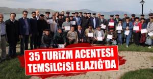 35 Turizm Acentesi Temsilcisi Elazığ'da