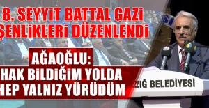 8. Seyyit Battal Gazi Şenlikleri Düzenlendi