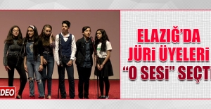 """Elazığ'da Jüri Üyeleri, """"O Sesi"""" Seçti"""