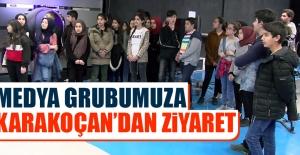 Medya Grubumuza, Karakoçan'dan Ziyaret