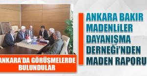 Ankara Bakır Madenliler Dayanışma Derneği'nden Maden Raporu