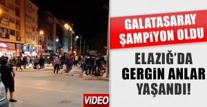 Elazığspor Taraftarları ile Galatasaraylılar Arasında Gerginlik Yaşandı