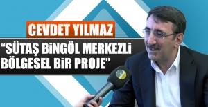 Genel Başkan Yardımcısı Cevdet Yılmaz, Elazığ'da Açıklama Yaptı