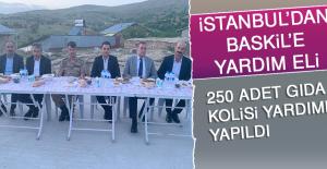 İstanbul'dan Baskil'e Yardım Eli