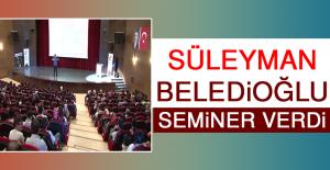 Süleyman Beledioğlu, Seminer Verdi