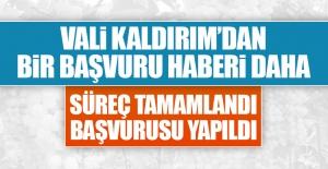 Vali Kaldırım'dan Coğrafi İşaret Açıklaması