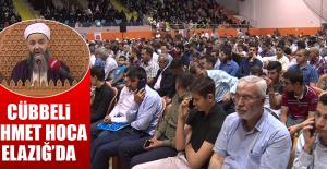 Cübbeli Ahmet Hoca Elazığ'da