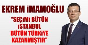 Ekrem İmamoğlu İstanbul Seçimlerinin Ardından Açıklama Yaptı