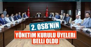 Elazığ 2. OSB'nin Yönetim Kurulu Üyeleri Belli Oldu
