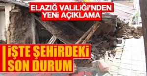 Elazığ'da Sel Felaketiyle İlgili Valilikten Yeni Açıklama