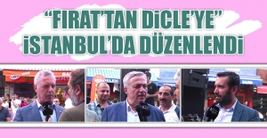 """""""Fırat'tan Dicle'ye"""" İstanbul'da Düzenlendi"""