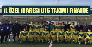 İl Özel İdaresi U16 Takımı Finalde