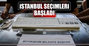 İstanbul Seçimleri Başladı