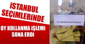 İstanbul Seçimleri Sona Erdi