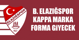 B. Elazığspor Kappa Marka Forma Giyecek