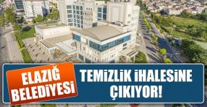 Elazığ Belediyesi Temizlik İhalesine Çıkıyor