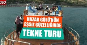 Hazar Gölü'nün Eşsiz Güzelliğinde Tekne Turu
