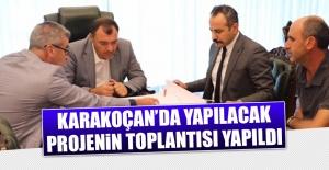 Karakoçan'da Yapılacak Projenin Toplantısı Yapıldı