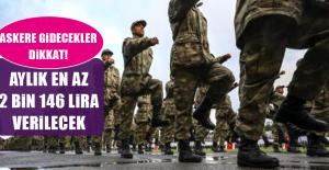 Askerliği uzatana avantaj! Aylık en az 2 bin 146 lira ödeme yapılacak