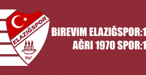 Birevim Elazığspor 1 – 1 Ağrı 1970 Spor