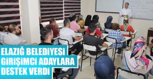 Elazığ Belediyesi'nden Girişimci Adaylara Destek