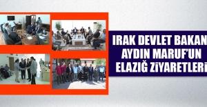 Irak Devlet Bakanı Aydın Maruf'un Elazığ Ziyaretleri