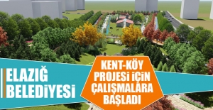 Kent-Köy Projesi İçin Çalışmalar Başladı