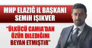 MHP İl Başkanı Işıkver, O Konuşmayla İlgili Açıklama Yaptı