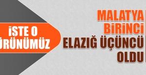 Elazığ Türkiye Üçüncüsü Oldu!