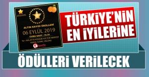 Türkiye'nin En İyilerine Ödülleri Verilecek