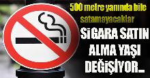 Sigara Satış Yaşı Değişiyor, Nerelerde Sigara Satılmayacak?