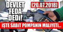Sabit pompanın maliyeti ne kadar?