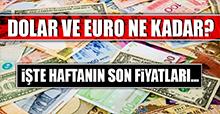 18 Kasım Dolar ve Euro Fiyatları